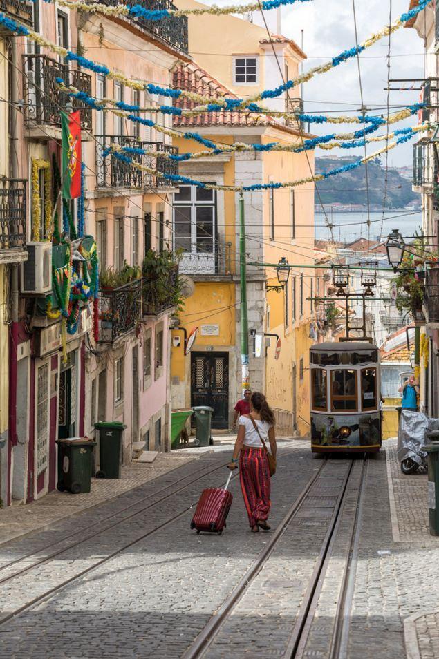 Lone Traveler, Lisbon / Portugal